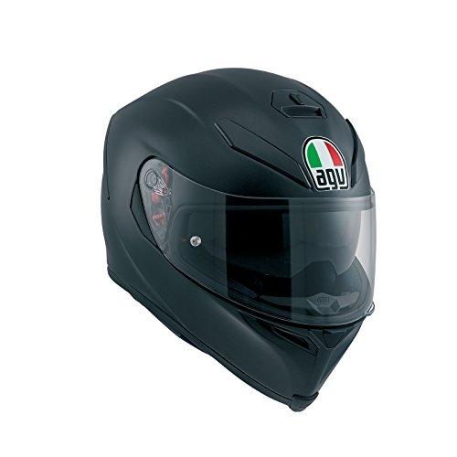 AGV 0041A4HY_003_MS K-5 S E2205 Solid Helm, Matt Black, Größe MS -