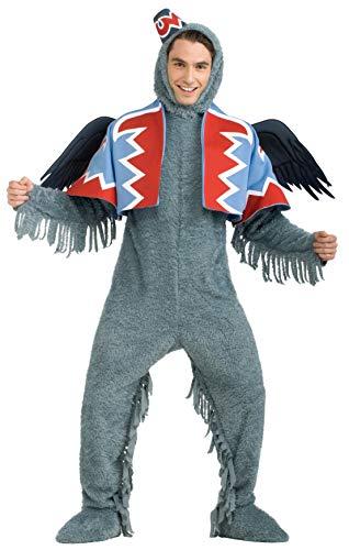 Zauberer von Oz - Geflügelter Affe - Deluxe Kostüm Herren Gr. XL