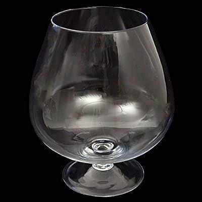 Cognacschwenker Mittel Hhe 24cm 13cm Dekoglas In Bergroer Form Aus Klarglas Von Glasknig