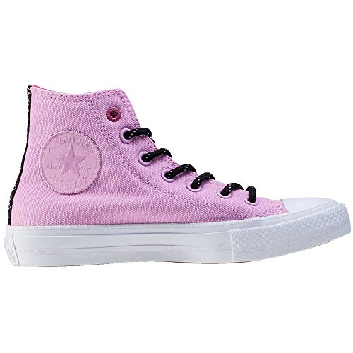 Converse Chuck Taylor All Star Ii High Donna Sneaker Rosa Pink White