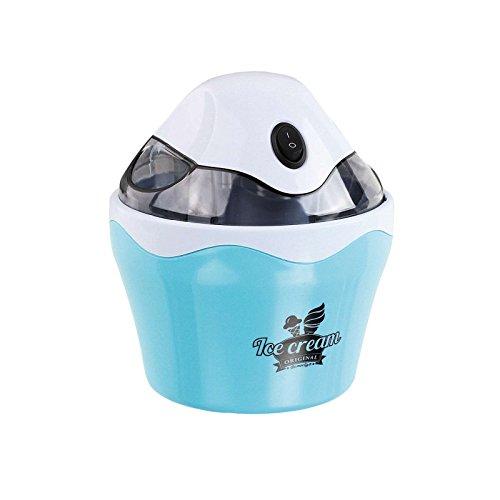 Eismaschine für 500 ml Speise-Eis (Eiscreme Automat, Sorbet oder Frozen-Joghurt, Speiseeis-Bereiter, transparenter Deckel)