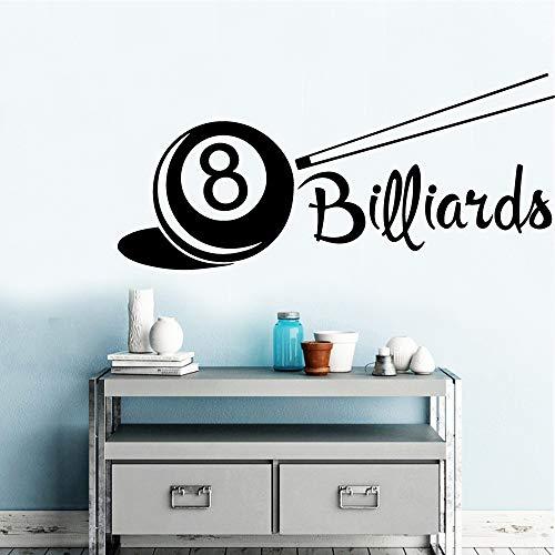 Neues Design Billard Küche Dekoration Zubehör Für Schlafzimmer Dekoration Adesivo De Parede 1 30 * 66 cm