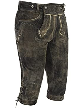 Michaelax-Fashion-Trade Spieth & Wensky - Herren Trachten Lederhose Esslingen (270687-0613)