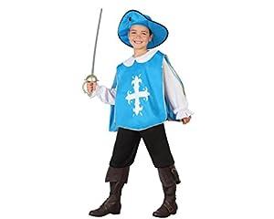 Atosa 26820 - Mosquetero, muchacho, tamaño 104, de color azul claro