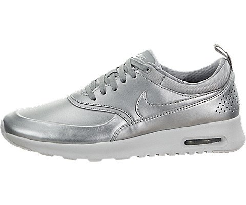 Air Max Silber Nike (Nike Damen 861674-001 Turnschuhe, 38 EU)