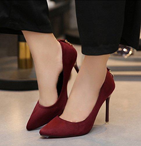 XTIAN - Scarpe con Tacco Donna rosso vivo