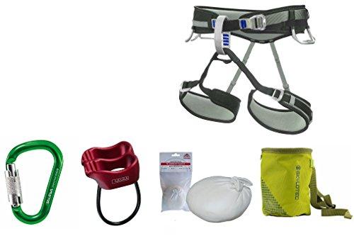 Kletter-Set LACD 1.3 - Klettergurt Größe S + Salewa Karabiner + Tube + Chalkball + Chalkbag