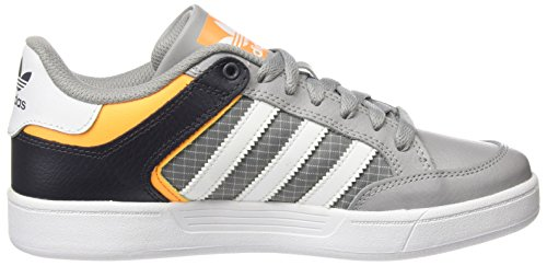 adidas Varial Low, Baskets Basses Mixte Adulte Multicolore (Mgh Solid Grey/Ftwr White/Solar Gold)