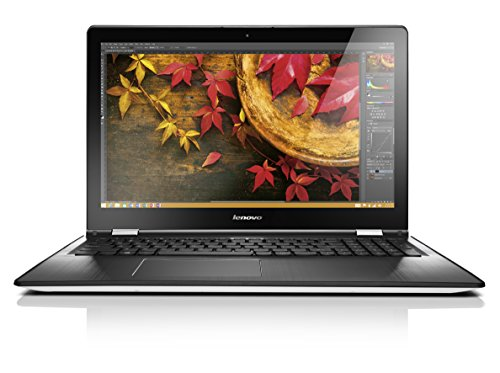 Lenovo YOGA 500 39,6 cm (15,6 Zoll Full HD IPS Matt) Convertible Notebook (Intel Core i3-5020U, 2,2GHz, 4GB RAM, 128GB SSD, Intel HD Grafik, Touchscreen, Windows 10) weiß