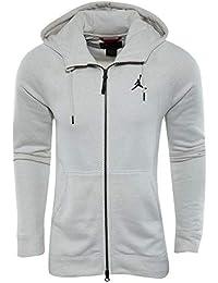 promo code 7795c 6d707 Nike Herren Jordan Sportswear Wings Fleece Hoodie Grau