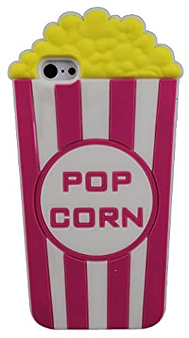 Popcorn Bucket Shape Soft Silicone Rubber 3D New Case Cover