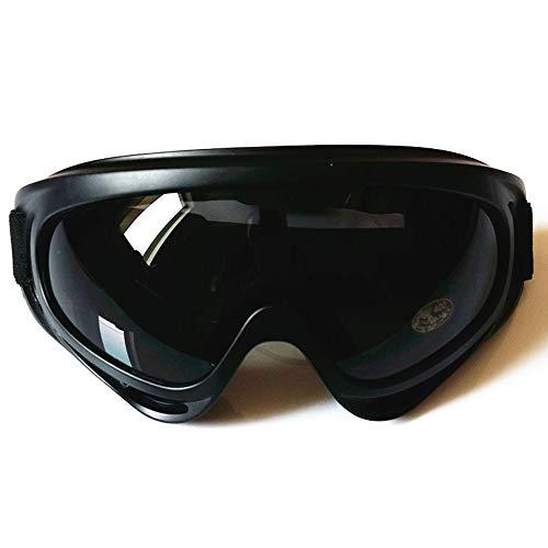 Ogquaton Motorradbrille Pilotenbrille Harley Brille UV Sonnenbrille Brille Brille Winddicht Snowboard Männer
