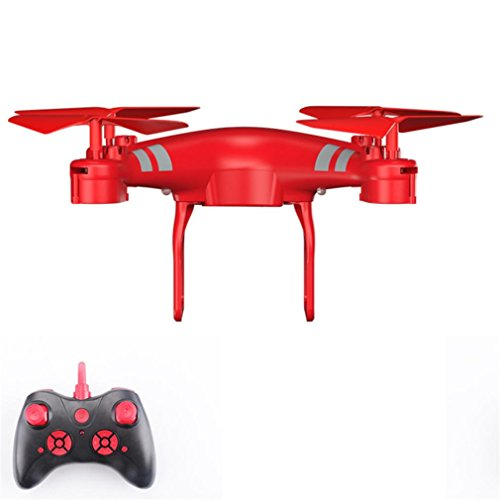 ASHOP KY101D 2,4 Ghz 6-Axis gyro RC Quadcopter Drohne RC Hover RTF 1800 Mah Batterie ,mit Headless Modus, EIN 360-Grad-3D und spezielle Funktionen,Steuerbares Licht Funktion,Weinrot