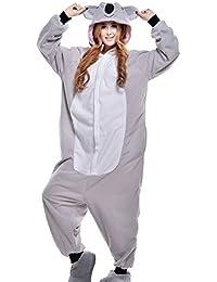 wotogold Pijamas de Coala Animal Trajes de Cosplay Adultos Unisex