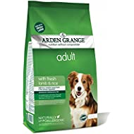 Arden Grange Adult Complete Dry Dog Food Lamb and Rice, 12 kg