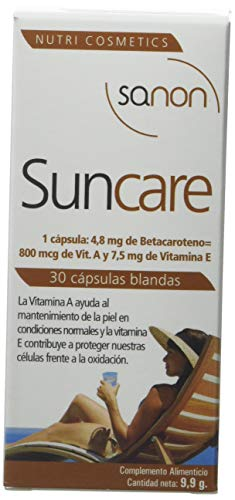 Sanon Sun Care Formación del Bronceado - 2 Paquetes de 30 Cápsulas