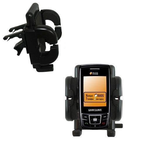 Samsung SGH-D880 DUOS Cradle-Lüftungshalterung Einzigartige Autohalterung mit Lüftungsklemmen mit Garantie auf Lebensdauer