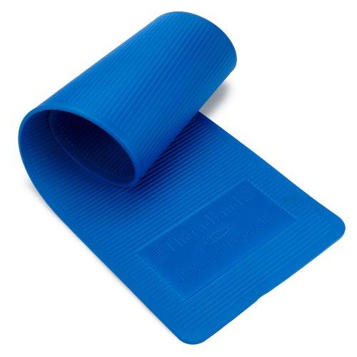 Thera-Fascia Tappetino da allenamentoe ca. 190 x 60 x 1,5 cm con Borsa a tracolla, Blu (blau), 190 cm x 60 cm x 1,5 cm Blu (blau)