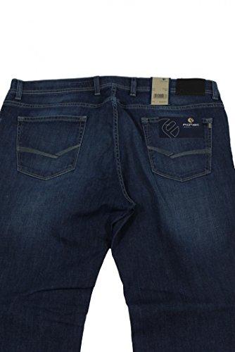Herren- Konvex- Jeans von Pionier mit leichter Waschung, denim blue Blau