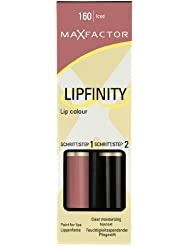 Lipfinity Lipstick by Max Factor Iced 160