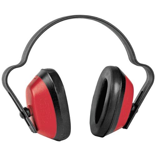 JSP AEA020–010–600Economuff Casque anti-bruit, Rouge