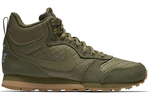 Nike Damen MD Runner 2 Mid Premium Hohe Sneaker, Grün Olive Canvas 300, 40 EU