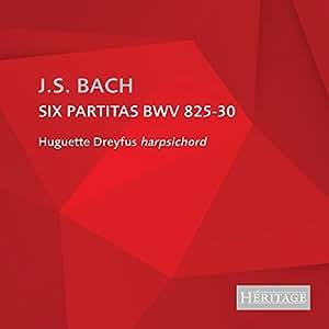 Bach:Six Partitas Bmv 825-30 [Import allemand]
