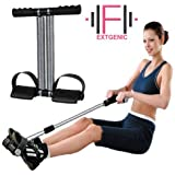 EXTGENIC (™) Double Spring Tummy Trimmer Ab Exerciser Multipurpose Fitness Equipment for Men and Women
