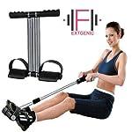 EXTGENIC (™) Double Spring Tummy Trimmer Ab Exerciser Multipurpose Fitness Equipment for Men and Women