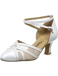 misu - Zapatillas de danza para mujer Negro negro / plateado, color Multicolor, talla 35.5