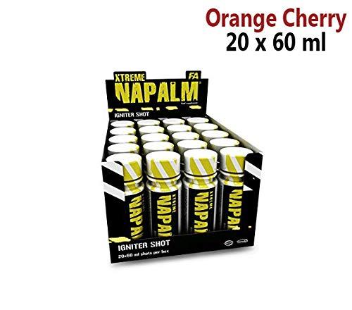 FA Xtreme Napalm IGNITER Shot - Orange Cherry - 20 x 60ml