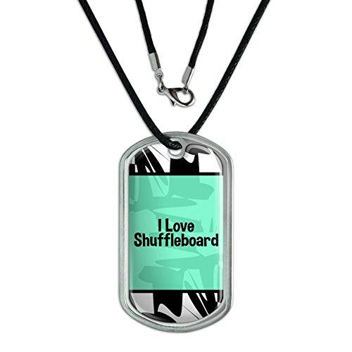 dog-tag-pendant-necklace-cord-i-love-heart-sports-hobbies-se-st-shuffleboard
