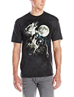 Three Wolf Moon Adult Wolves Unisex T Shirt The Mountain