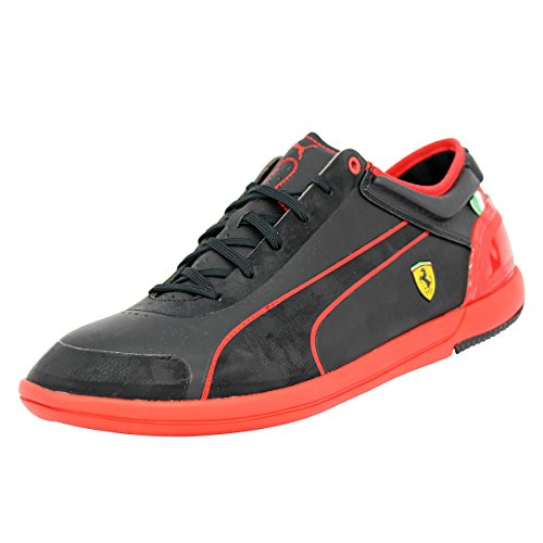 Puma FERRARI MENS DRIVING POWER LIGHT Schwarz Herren Sneakers Schuhe Ortholite Neu