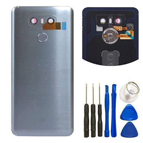 6 Glas - Akkufachabdeckung + Fingerabdruck-Flex-Sensor + Kamera-Glas-Objektiv-Abdeckung (wasserdicht) mit Werkzeugset für LG G6 Verizon VS988 (Gary) ()