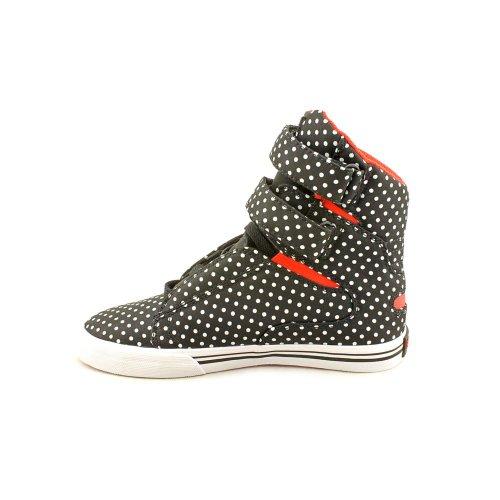 Supra Donna WMNS SOCIETY scarpe da ginnastica alte Nero