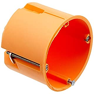 Blass Elektro 22052 Tiefraumhohlwanddose 60 mm orange, 25er Pack,