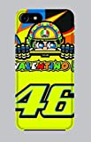 WorldSell Coque en TPU Apple Iphone 7-8, Sport 076 Valentino Rossi 46