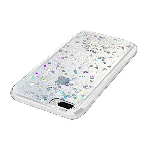 MOMDAD Coque iPhone 7 Plus Etui iPhone 7 Plus Coque iPhone 7 Housse iPhone 7 Case Cover Ultra-Thin Crystal Clear TPU Silicone Clair Exact Fit Soft Etui Souple TPU Coque iPhone 7 Plus Silicone Étui Hou Bing-Blanc