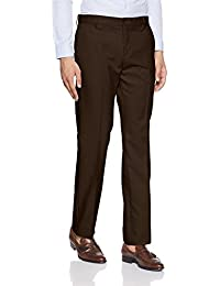 Excalibur Men's Relaxed Fit Formal Trousers