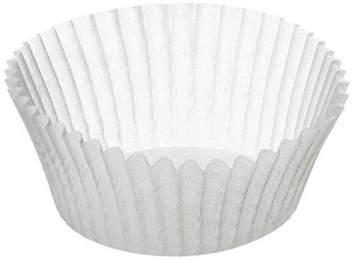 Kaiser 646275 Muffin World - 200 Moldes de Papel blancos para Muffins, 7 cm