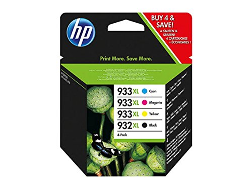 ewlett Packard OfficeJet 7510 WF (932XL933XL / C 2 P 42 AE) - Tintenpatrone MultiPack (schwarz, cyan, magenta, gelb) ()