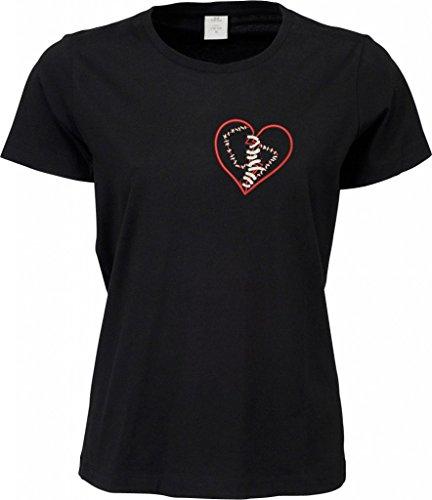 makato Sof-Tee 'healing broken heart' /women 770003 Black