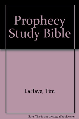 Prophecy Study Bible: New King James Version Bonded Black