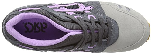 Asics Gel-Lyte III, Scarpe sportive, Donna Dark Grey/Sheer Lilac 1635