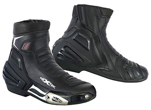 Motorrad Stiefel Rennschuhe Stylist Kurze Stiefeletten Motorrad Off Road Touring Schuhe wasserdicht gepanzert für Herren Jungen - Grobe UK 14 / EU 48 -