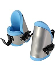 Bottes d'inversions - Gravity Boots - Chaussures d'inversion / VENDUS PAR PAIRE / Idéal pour RÉDUIRE les MAUX de DOS et pour faire TRAVAILLER vos ABDOMINAUX - Bleu
