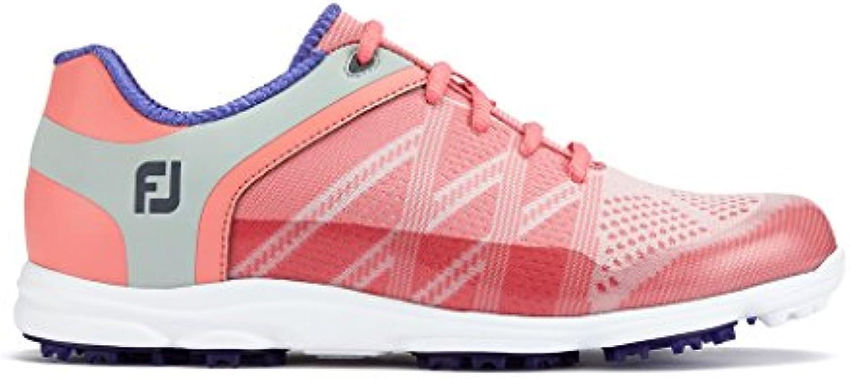 Footjoy Sport SL, Zapatillas de Golf para Hombre, Rosa (Rosa 98032), 38 EU