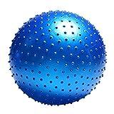 YKXY Palla Equilibrio Palla Medica Lacrosse per Riabilitazione Fisioterapia Crossfit by-85cm