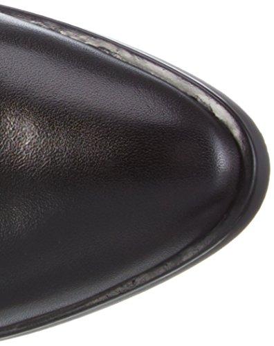 HispanitasLIVERPOOL - Stivali alti non imbottiti Donna Nero (Soho-I6 Black Crosta-I6 Black LIZARD-I6 Black)